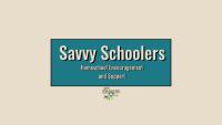 Savvy Schoolers Homeschool Encouragement and Support