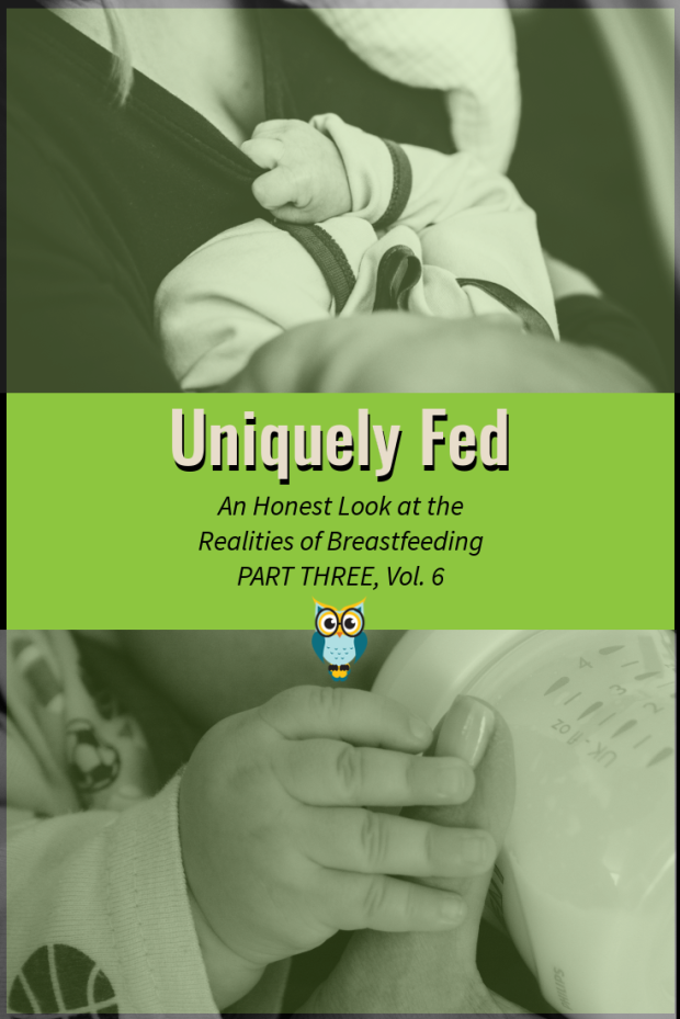Uniquely Fed: An Honest Look at the Realities of Breastfeeding, Part Three - Real Breastfeeding Stories, Vol. 6