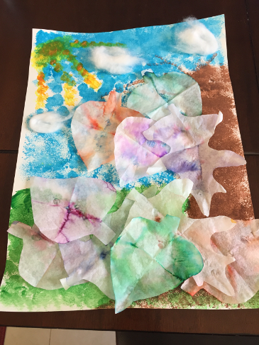 Fall Leaf Art & Science Project